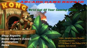 Arcade Game Repairs of MA